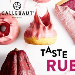 Ruby RB1 chocolat de Callebaut : Nouveau dans notre assortiment!